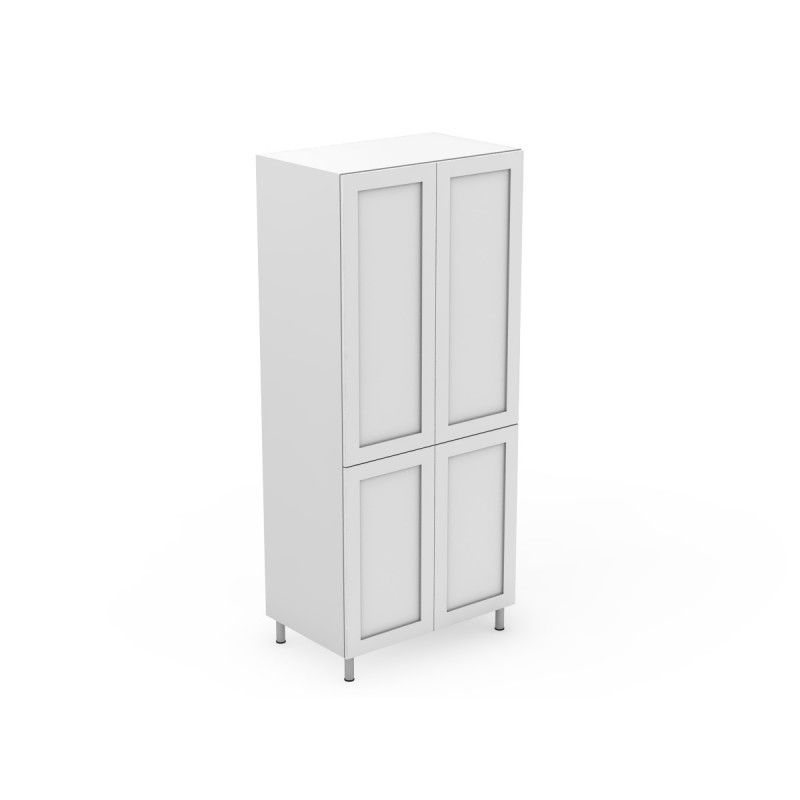 4 Door Pantry With Split At Benchtop Height Shaker